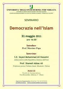 16 (2011) Democrazia nell Islam