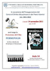 19 (2011) PERSEPOLIS proiezione film