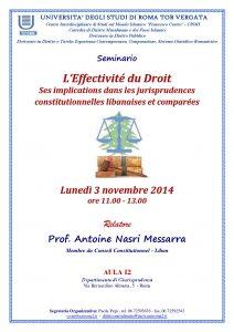 29 (2014) L Effectivité du Droit