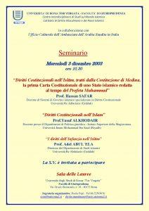 3 (2003) Diritti Costituzionali e Diritti dell Infanzia nell Islam