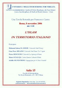 7 (2006) Islam in Territorio Italiano