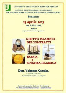 locandina Diritto Islamico dei Contratti - Banca e Finanza Islamica-page-001